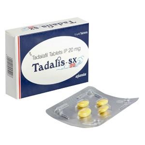 Buy Tadalis SX 20 Online